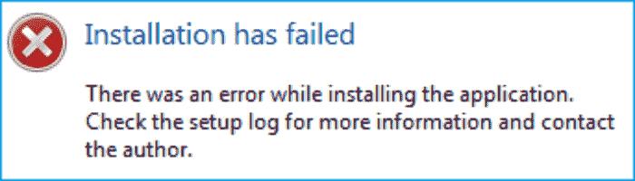 Discord_Error_Check the setup log